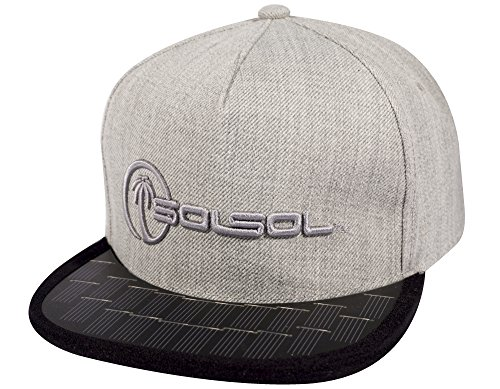 SOLSOL Snapback Hat Collection 2.0, The Solar Hat That Charges
