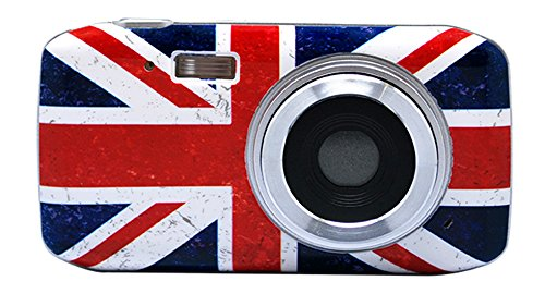 Teknofun 811249 Appareil Photo Numérique 8 MP SLIM UK GRUNGE