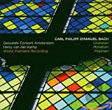 Carl Philipp Emanuel Bach: Litaneien,Motetten,Ps - Harry Van der Kamp