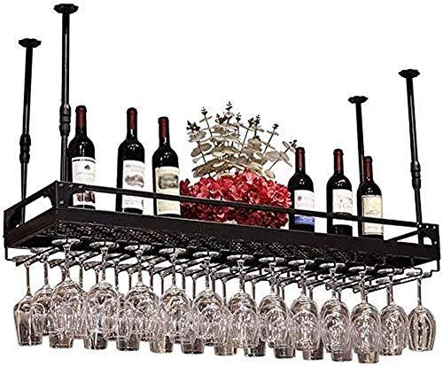 Estantería de vino Amantes del vino / colgando bastidores de vino vino rack de vino taza de vino titular de taza de copa rack botella rack rack stemware racks vintage estilo decoración almacenamiento