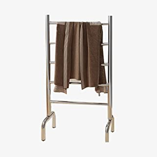 Toallero Eléctrico Radiador Toallero Eléctrico Secadora de pie,Acero Inoxidable Impermeable Estante de baño Apto para Cocina y baño (Tamaño: 90X50X28CM, 60W)