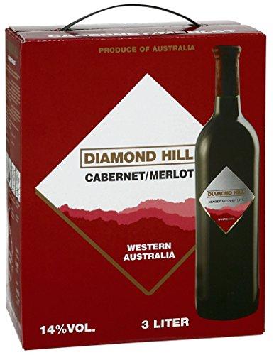 Diamond Hill - Cabernet Merlot Rotwein 14% Vol. - 3l Bag-in-Box