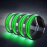 Alviller 4 Stück LED Armband