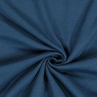 Fabulous Fabrics Romanit Jersey Petrol – Weicher Jersey Stoff zum Nähen von Kleider, Leggings, Shirts & Tuniken - Meterware ab 0,5m