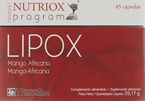 Nutriox Lipox Mango Africano - 45 Cápsulas