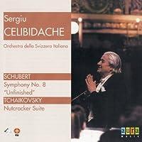 Sergiu Celibidache: Schubert: Symphony No. 8; Tchaikovsky: Nutcracker Suite by Sergiu Celibidache (2000-05-03)