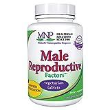 Michael's Naturopathic Programs Male Reproductive Factors - 120 Vegan Tablets - Nutrients for Sperm Production & Reproductive Organs - Vegetarian, Gluten Free, Kosher - 40 Servings