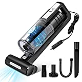 YHNJI Handheld Vacuum Cordless, 5000Pa Powerful Suction Portable Hand Car Vac,(Lightweight, Wet&Dry) for Car and Home