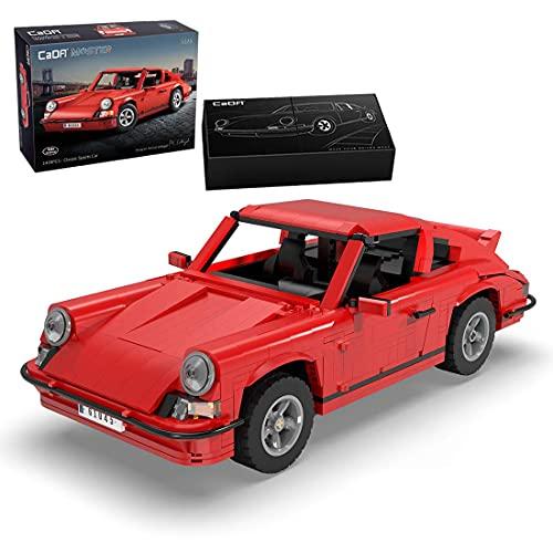 LINANNAN Cada CUS1045W Technics Car Set Remote Control con 3 Motors, 1429pcs Technic Sports Car Vintage Modelo de Coche, Bloques de construcción para Adultos y niños, Compatible con Lego Technic