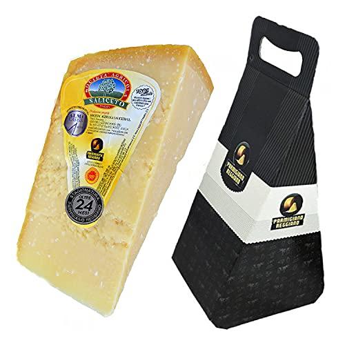 Parmigiano Reggiano DOP de la colina, kg.1 + Caja de regalo