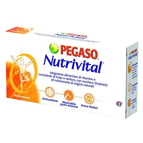 Nutrivital 30 Compresse - Integratore Alimentare Di Vitamine E Concentrati Di Frutta E Verdura