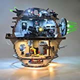 LINANNAN Light Set para Lego Star Wars Death Star 75159, Kit de iluminación LED Compatible con Lego Star Wars Death Star (Modelo Lego no Incluido)