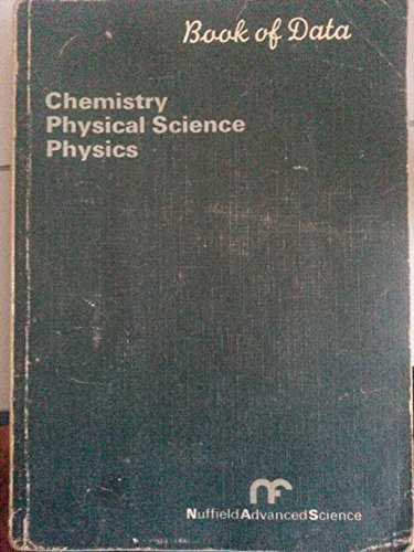 Book of Chemical Data (NAS series)