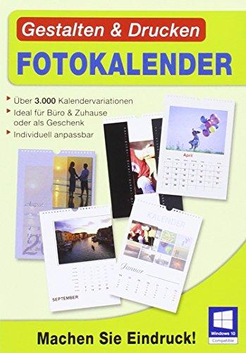Gestalten & Drucken Fotokalender. Für Windows 10, Windows 8, Windows 7, XP/Vista (jeweils 32- & 64- Bit)
