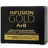 Tahe 12073151- Infusion Gold Tratamiento Capilar Potenciador de Brillo y Nutrición con Or...