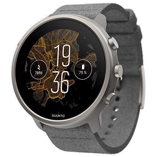 Suunto 7 Reloj Inteligente, Unisex-Adult, Gris Titanium, One Size