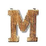 Kaizen Casa Decorative Wood Letter Alphabet Wall Hanging Décor (M)