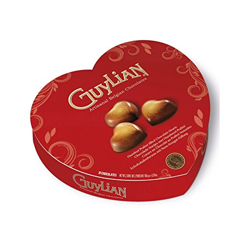 Guylian Heart Love Shaped 10 Chocolates Gift Box,perfect