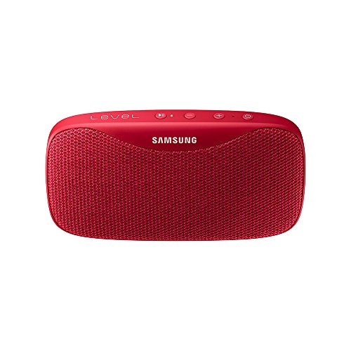 Samsung Level Box Pro - Altavoz portátil inalámbrico Bluetooth, color rojo- Version española