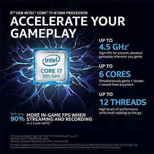HP Pavilion Gaming 9th Gen Intel Core i5 Processor 15.6-inch FHD Gaming Laptop (8GB/1TB HDD + 256GB SSD/Windows 10/4GB NVIDIA GTX 1050/Shadow Black), 15-dk0045TX