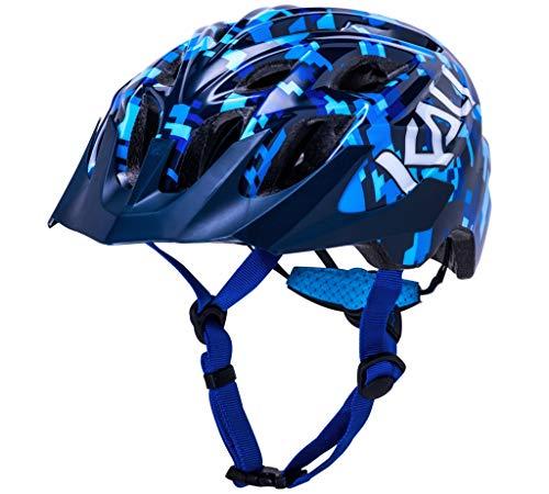 Kali Chakra Pixel Helm Jugend Blue 2021 Fahrradhelm