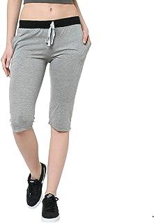 Trendygal Cotton Blended 3/4th Capri for Women's-F5_000001-P-(Pack of 1)