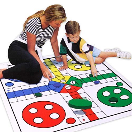Mens Erger Je Niet Bordspel voor Kinderen ? Speelmat voor Binnen / Buiten