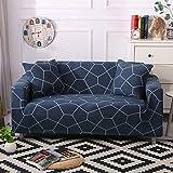 WXQY Funda de sofá elástica Funda de sofá elástica elástica para Sala de Estar Funda de sofá en Forma de L Funda de sofá de Esquina A4 3 plazas