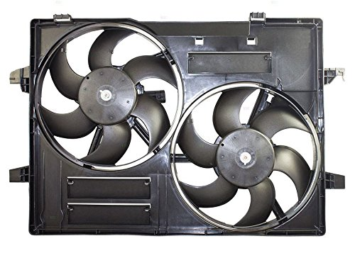 Engine Cooling Fan Assembly - Cooling Direct For/Fit JA3115101 02-05 Jaguar X-Type WITHOUT Speed Control Module