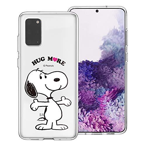 Galaxy S20 Ultra Case PEANUTS Clear TPU Leuke zachte gelei Cover voor [ Galaxy S20 Ultra (6.9inch) ] hoesje Knuffel Snoopy (Galaxy S20 Ultra)
