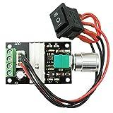 Yosoo 6V 12V 24V 3A DC Controlador de Velocidad del Motor PWM de Control del Motor de Velocidad...