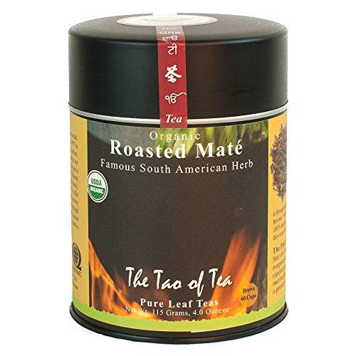 The Tao of Tea, Roasted Mate Herbal Tea, Loose Leaf, 4-Ounce Tins (Pack of 2)