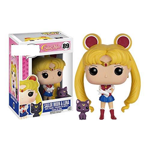Sailor Moon Toys Figurine Doll Modelo de Anime Coleccionable