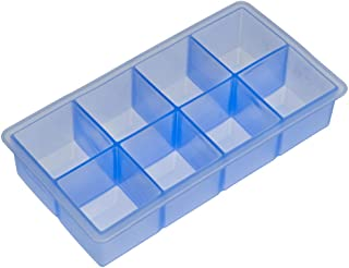 Lurch Germany 1.9 x 1.9 Inch Silicone Ice Cube Tray, Blue