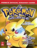 Pokemon Yellow - Official Strategy Guide (Prima's official strategy guide) by E. Hollinger (1-Aug-1999) Paperback