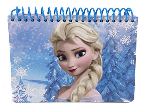 Disney Queen Elsa Spiral Blue Autograph Book