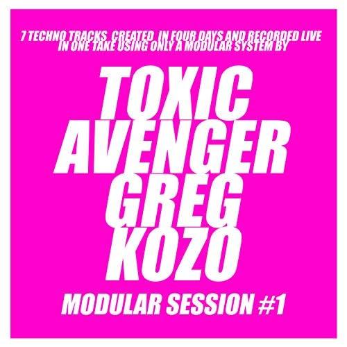 The Toxic Avenger & Greg Kozo