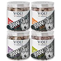 Tasty snacks that are 100% pure beef liver, duck neck, chicken hearts or lamb lung. The treats are also 100% grain-free. The freeze-drying process ensures that these delicious dog snacks retain all their great flavour and vital nutrients. The extreme...
