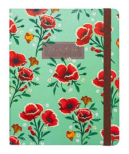 Kokonote by Erik - Agenda 2021 semana vista Frida Kahlo, Edición premium, 17 meses (16,5x20 cm)