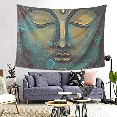 Buda meditación arte tapiz manta mantel Yoga Zen espíritu budismo pared tela poliéster decoración del hogar