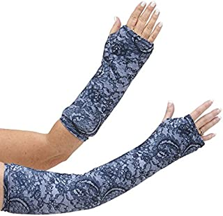 CastCoverz! Designer Arm Cast Cover - Evening Lace - Medium Short: 11
