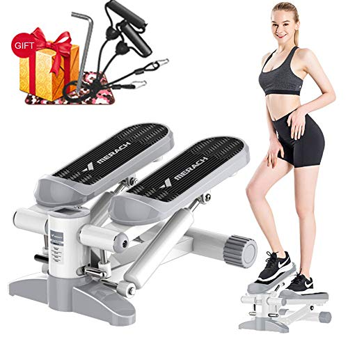 Find Discount Home Fitness Equipment,Steppers for Exercise with LCD Monitor and Resistance Bands,Sta...