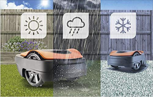 Flymo EasiLife 350 Robotic Lawn Mower Mowing Features