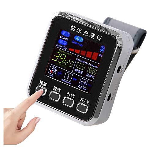 Reloj pulsera terapia láser,Instrumento tratamiento láser semiconductor,Equipo fisioterapia congestión nasal,Nariz tapada Reducir Hipertensión Hiperglucemia Hiperlipidemia Dispositivo Equipo terapia