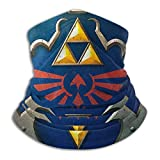 Hylian Shield Legend of Zelda Triforce Face Mask Bandanas for Dust, Outdoors