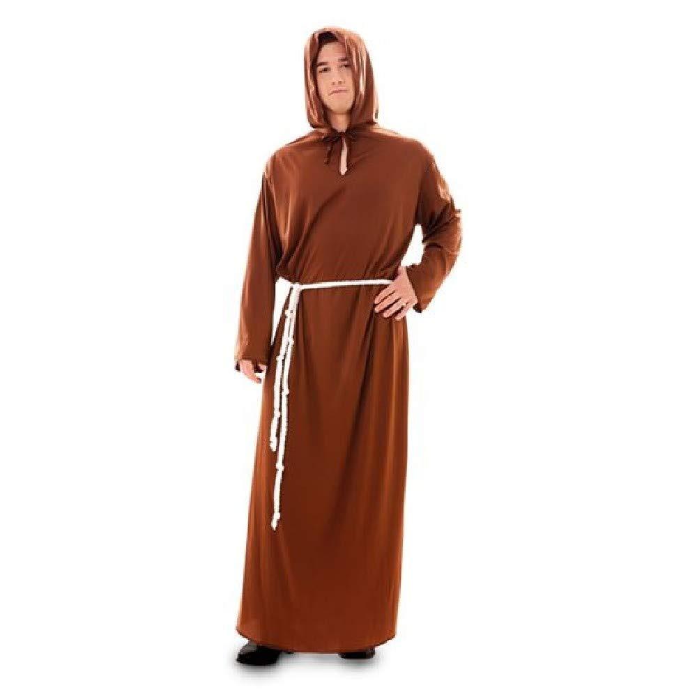 EUROCARNAVALES Disfraz de Monje para Hombre: Amazon.es: Juguetes y ...