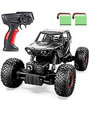 ANTAPRCIS Pilot zdalnego sterowania samochód - RC gąsienicowy samochód zabawka prezent dla dzieci w wieku 6-12 lat, ciężarówka terenowa 4WD dla chłopców dziewcząt