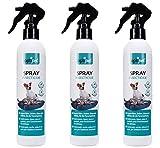 OptiPet 3x300ml Insektizid Spray Anti-Insektenspray Insektenabwehr gegen Insekten Parasiten-Spray