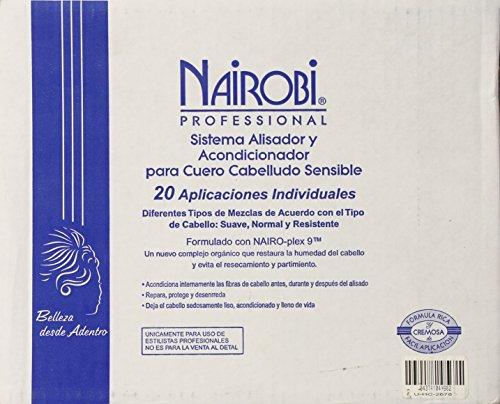 Nairobi Conditioning Sensitive Scalp Relaxer System Kitfor Unisex, 20 Count
