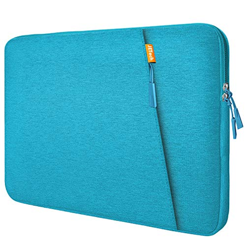 JETech Laptop Sleeve Compatible for 13.3-Inch Notebook Tablet iPad Tab, Compatible with 13' MacBook Pro and MacBook Air,Waterproof Shock Resistant Bag Case with Accessory Pocket, Blue